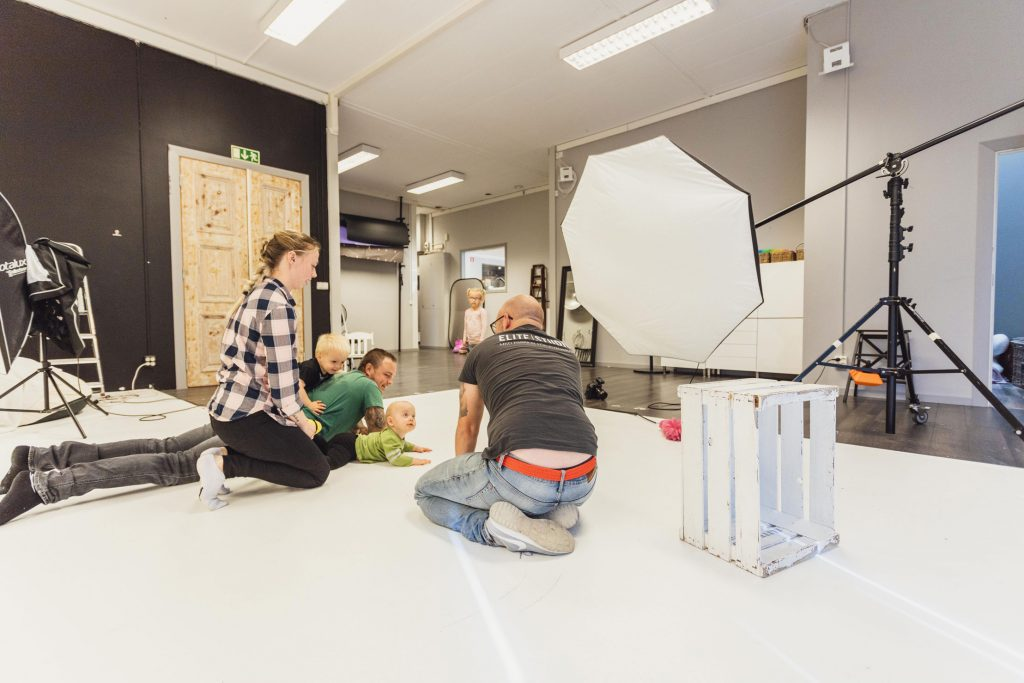 En dag i studion med Carl-Henrik, Elite Studio grundaren